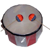 Make A Drum - Kids Crafts