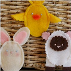 Easter Finger Puppets - Kids Crafts