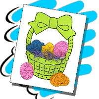 Easy Easter Basket - Kids Crafts