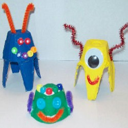 Egg Carton Critters - Kids Crafts