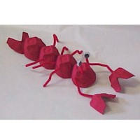 Egg Carton Lobster - Kids Crafts