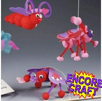 Bouncing Love Bugs Craft