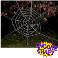 Sticky Spider Web Craft