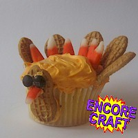 Turkey Cupcakes Craft
