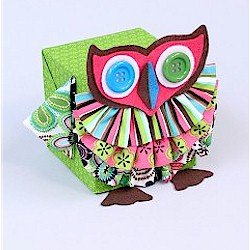 Fabric Owl Craft