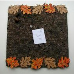 Fall Leaf Bulletin Board Craft