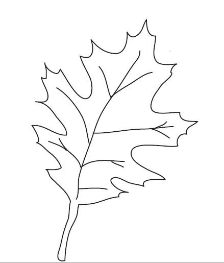 fall leaf cut out printable leaf repulseweb net