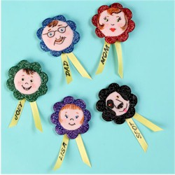 Family Sticks Together Magnets Craft