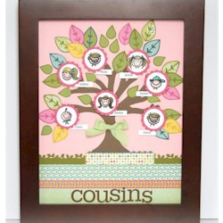 Family Tree Wall Art - Kids Crafts