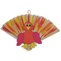 Fan Tail Turkey Craft