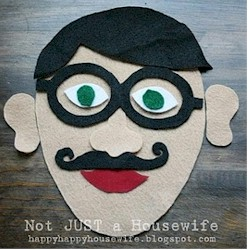 Felt Face Game - Kids Crafts