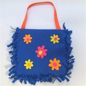 Easy No Sew Felt Purse - Kids Crafts