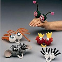 Finger Friends - Kids Crafts