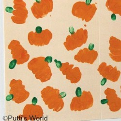 Fist Pumpkins - Kids Crafts