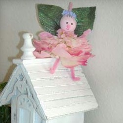 Fabric Flower Fairy Craft
