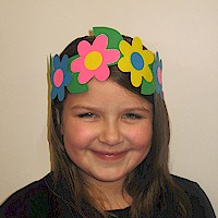 Flower Power Headband - Kids Crafts