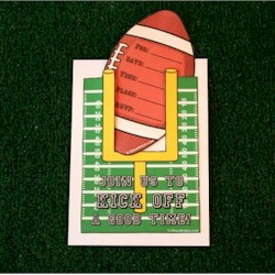 Football Party Invitation - Kids Crafts