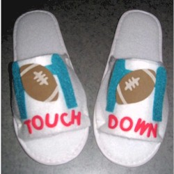 'Fathers Day Sport Slippers Craft