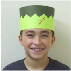 Frankenstein Crown - Kids Crafts