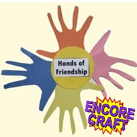 Hands Of Friendship - Kids Crafts