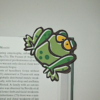 Frog Bookmark - Kids Crafts