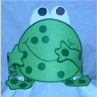 Frog Hat - Kids Crafts