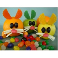 Fruit Bunnies Craft