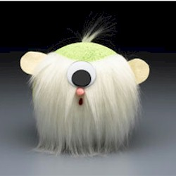 Furry Green Cyclops Craft