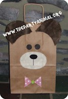 Teddy Bear Gift Bag - Kids Crafts