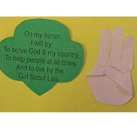 Girl Scout Promise - Kids Crafts