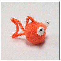 Pom Pom Goldfish - Kids Crafts