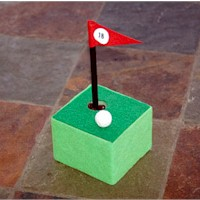 Golf Pen Holder Craft