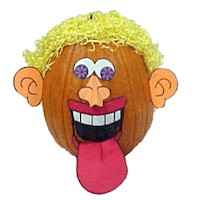 Goofy Pumpkins - Kids Crafts