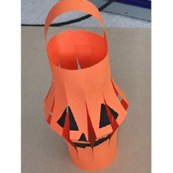 Halloween Jack-O-Lantern - Kids Crafts