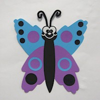 Handprint Butterfly - Kids Crafts