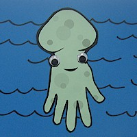 Handprint Octopus - Kids Crafts