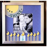 Hanukkah Frame Craft
