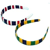 Striped Headbands - Kids Crafts