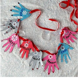 Helping Hands Garland - Kids Crafts