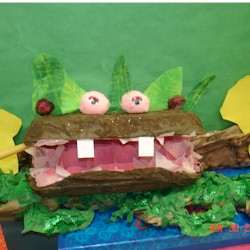 Egg Carton Hippo - Kids Crafts