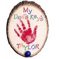 Key Hook for Dad - Kids Crafts