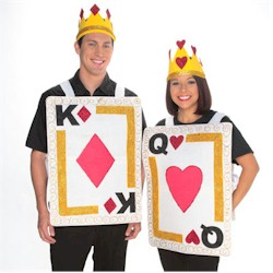 King & Queen Card Costume Craft