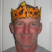 Fathers Day Crown Craft