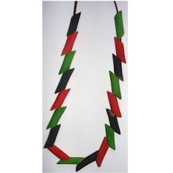 Kwanzaa Necklace - Kids Crafts