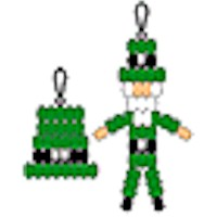 Leprechaun and Hat Pony Bead Projects Craft