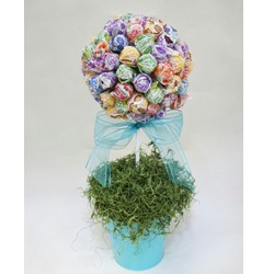 Dum Dum Topiary Tree Craft