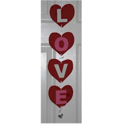 Love Doorhanger - Kids Crafts