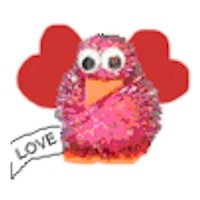 Love Bird Magnet - Kids Crafts