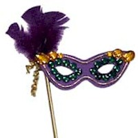 Mardi Gras Mask - Kids Crafts