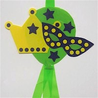 Mardi Gras Windsock Craft